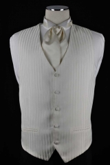 ivory soft stripe vest_084