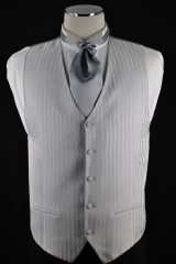 silver soft stripe vest_076