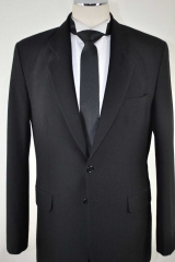 black self stripe suit_060