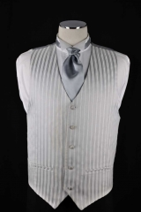 silver strong stripe vest_077